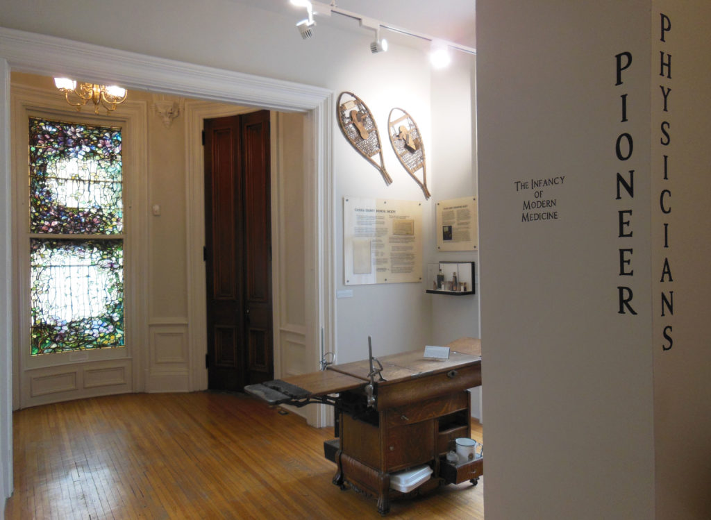 Image of Pioneer Physicians exhibit